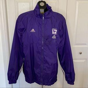 Adidas Western Mustangs UWO Hockey Jacket Medium